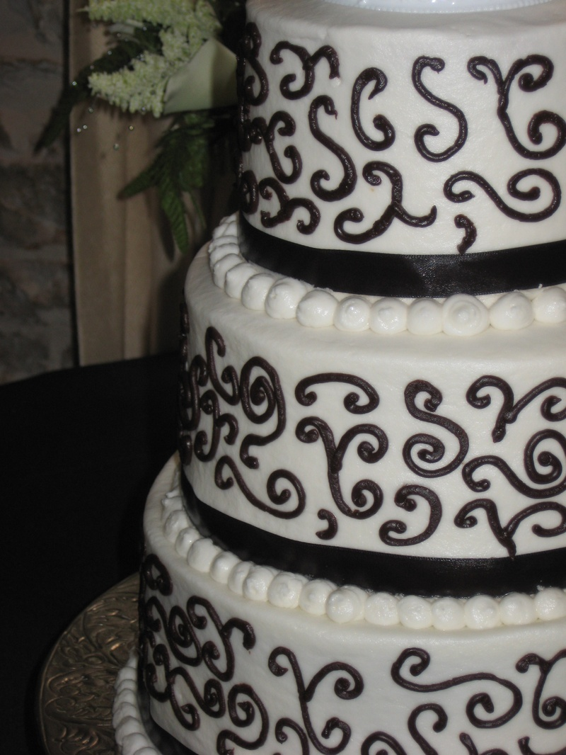 Chocolate Scroll Cake