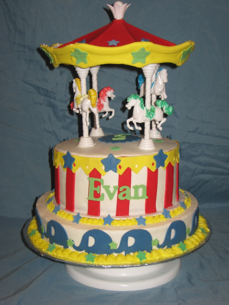 Carousel Birthday Cake http://www.shimmyshimmycake.com/apps/photos/photo?photoid=142711639