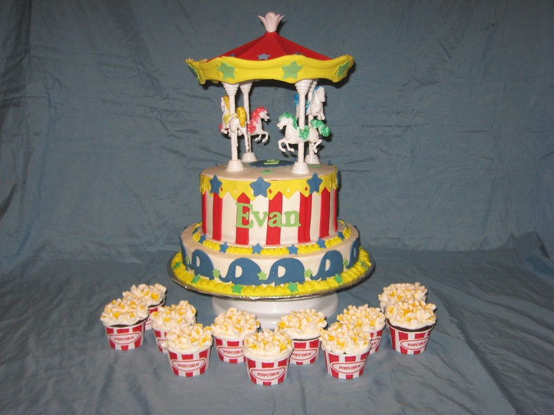 Carousel Birthday Cake http://www.shimmyshimmycake.com/apps/photos/photo?photoid=142712059