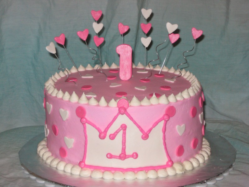 Lil Princess First Birthday Cake Shimmy Shimmy Cake